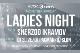 LADIES NIGHT в KT.KOMBA
