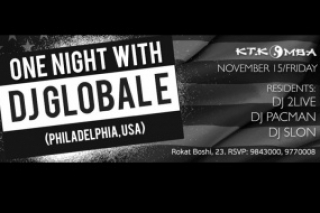 ONE NIGHT with DJ GLOBAL E in KT.Komba