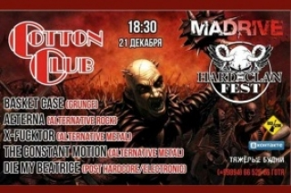 MADRIVE & HARDCLAN FEST in Cotton Club