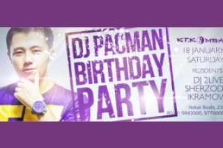 DJ PACMAN BIRTHDAY PARTY в KT.KOMBA