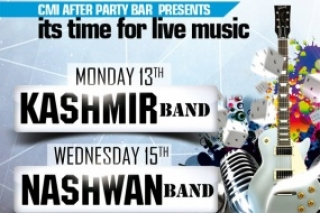 Its time for live music in CMI afterparty bar