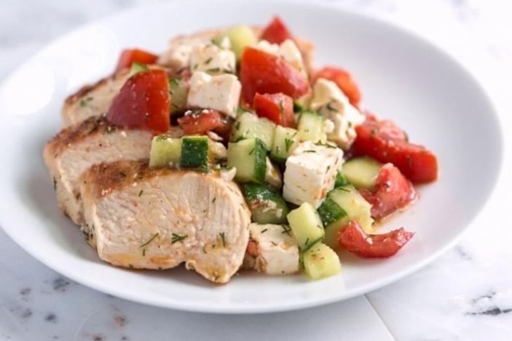 Салат из варёной куриной грудки рецепты